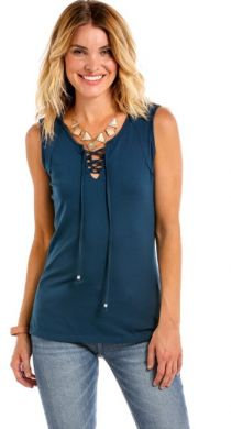 PANHANDLE SLIM LADIES SLEEVELESS TUNIC