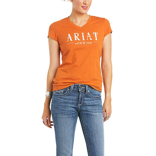 ARIAT REAL Logo T-Shirt