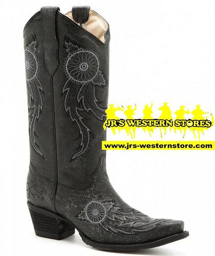 Circle G Black Dreamcatcher Boots
