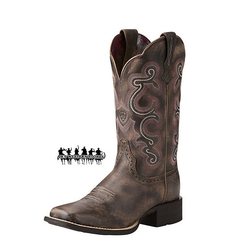 Ariat Tack Room Chocolate Quickdraw Boot