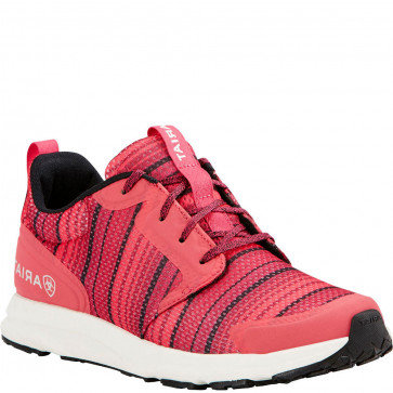 Ariat Women's Pink Serape Mesh Fuse Athletic Shoe