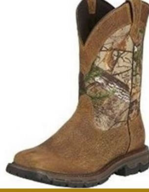 Ariat Conquest MEN'S H2O Pull-on Outdoor Boot 10016340