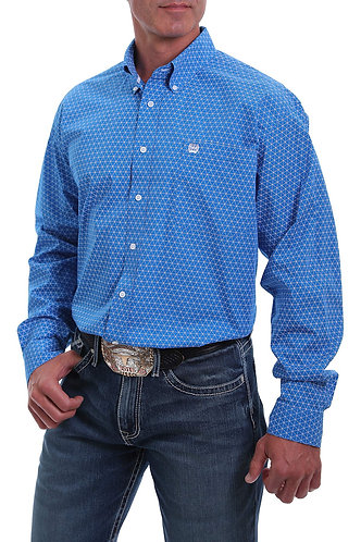 CINCH MTW1105020 MENS L/S PRINT 5/20 - ROY