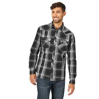 Wrangler Retro® Shirt - MVR474X - Black/White