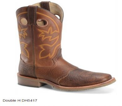 Double-H Men�s Work Western Wide Square Toe Boot DH5417