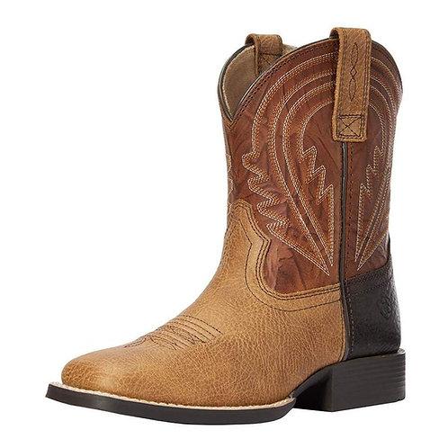 Kids Ariat Lil Hoss Cottage Cinnamon Cowboy Boot