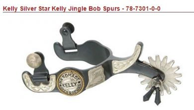 Kelly Silver Star Kelly Jingle Bob Spurs