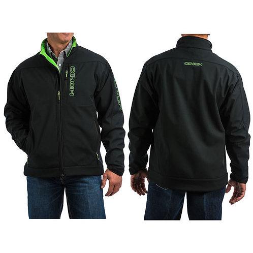 Cinch Black and Neon Bonded Jacket