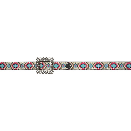 "Angel Ranch 1 1/2"" Multicolored Ladies' Fashion Belt"