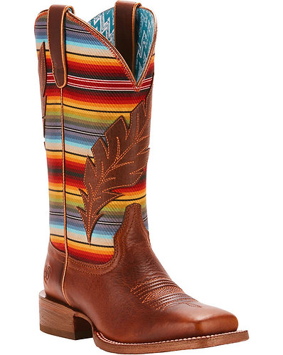 Ariat Women's Circuit Serape/Feather Boot