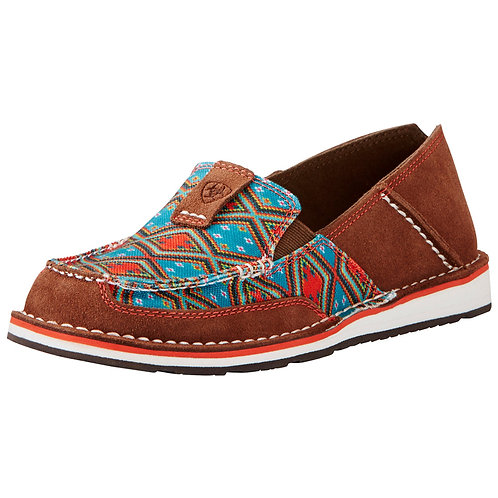 Ariat Women's Tan Aztec Cruiser Slip On Shoes