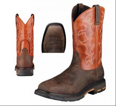 Ariat Men's Sq/Steel Toe Work Hog #10006961