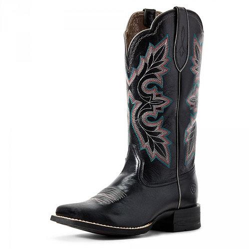 Ariat Women's Breakout Jackal Western Cowboy Boots Wide Square Toe