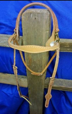 Headstall, Easy on Russet,