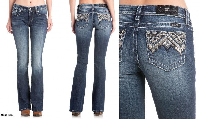 Miss Me Embellished Chole Low-Rise Jeans