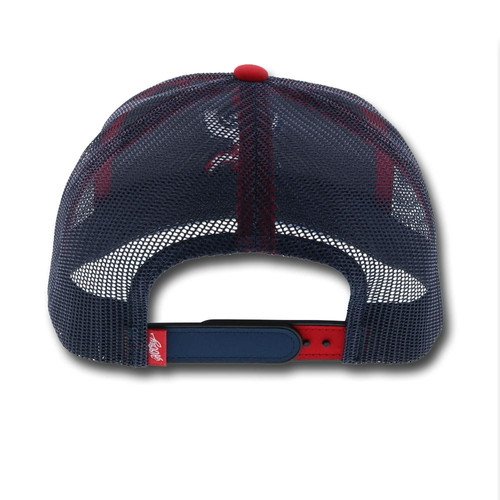 96925f8941590a HOOEY HAT TEXICAN RED WHITE & BLUE SNAPBACK BALL CAP