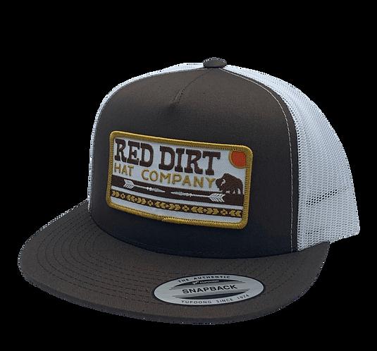 RED DIRT HAT CO. ARROWS BROWN TRUCKER CAP
