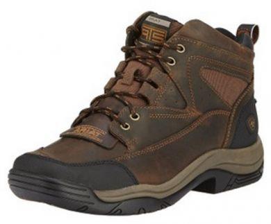 Ariat Endurance Boots Mens Terrain Wide Square Brown 10016378