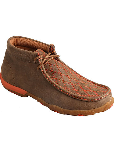 Twisted X Women's Driving Moccasins – Bomber/Orange