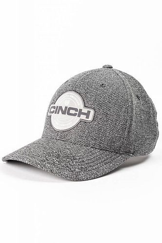 Cinch Heather Grey Logo Fitted Ball Cap