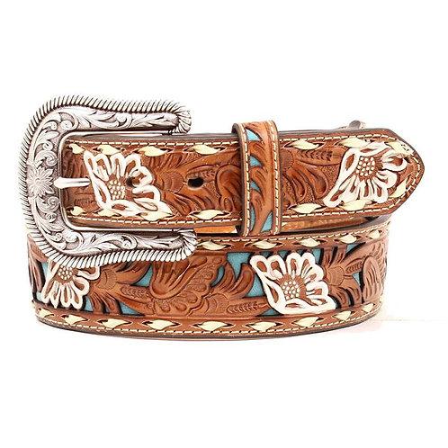 Nocona Belt Co TOOLED Ladies Belt
