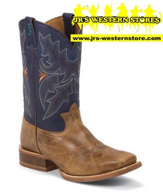 TONY LAMA MEN'S HONEY SIERRA 3R� STOCKMAN BOOTS #3R1128