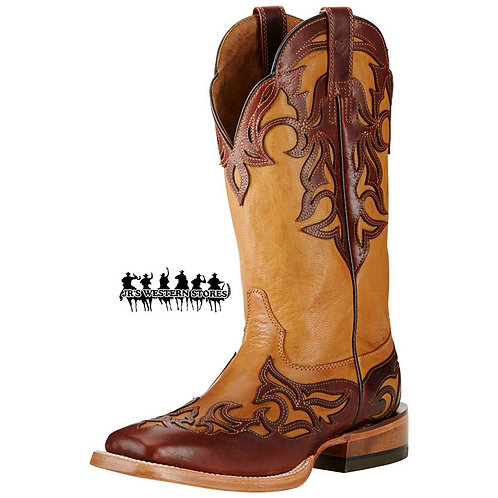 Ariat Biker Brown/Caliche Cassidy Boots