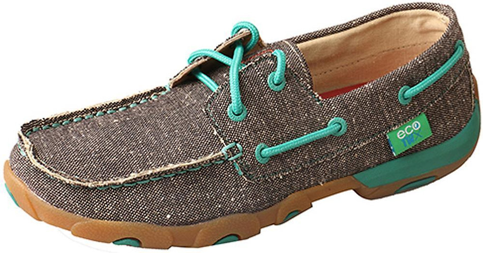 Twisted X Women's ECO TWX Driving Moccasins – Dust