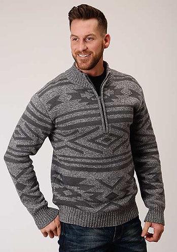 Men's Stetson Aztec Patterned Pullover * Wool Blend Sweater