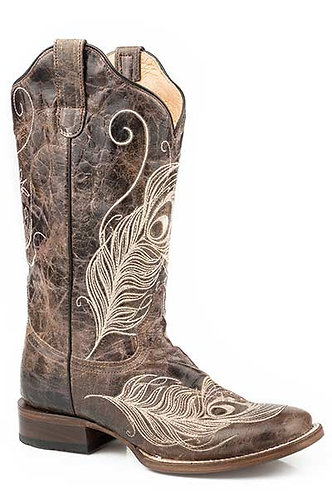 FEATHER WOMENS FOOTWEAR   SQTOE WIDE CALF FASHION BOOT