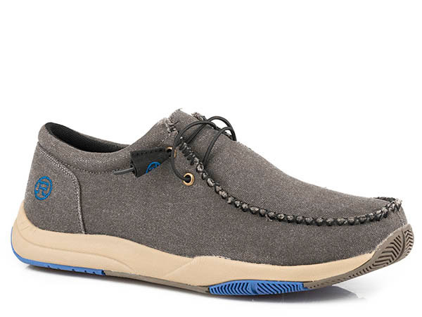 MENS FOOTWEAR  LACE UP CASUAL FABRIC SWIFTER SOLE
