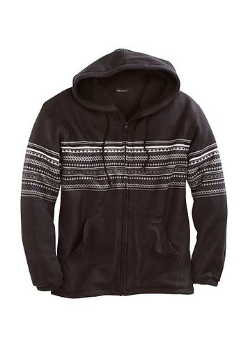 Tin Haul AZTEC PRT POLAR FLEECE JACKET,