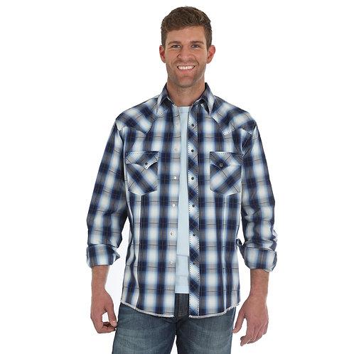 Wrangler® Fashion Snap Long Sleeve Shirt