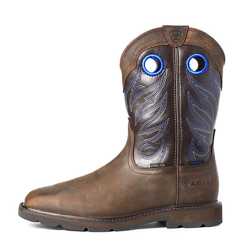 Groundwork Waterproof Steel Toe Work Boot