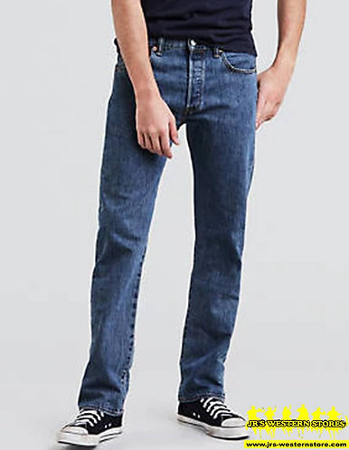 Levi's 501 Medium Wash Original Fit Jeans