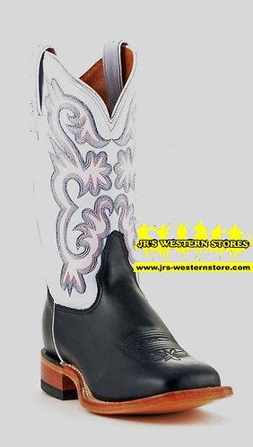 Tony Lama Cassidy Lavender/Black Boots