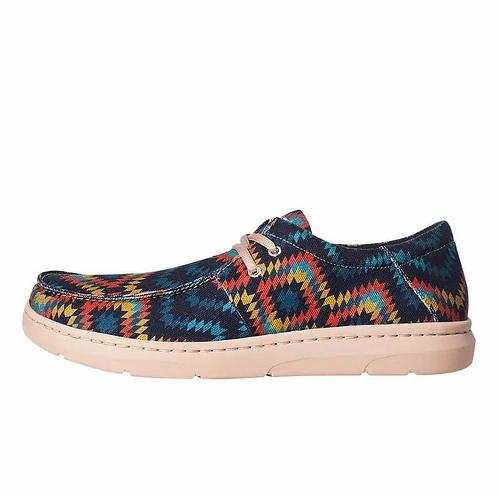 Ariat  Men's Hilo Blue Aztec Casual Shoe, 10035816