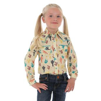 Girls' Western Top - Multi