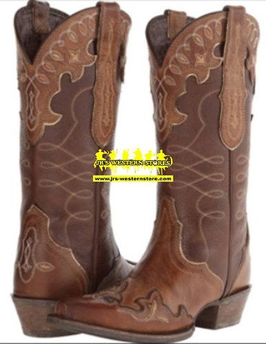 Ariat Brown Zealous Barnwood Boots