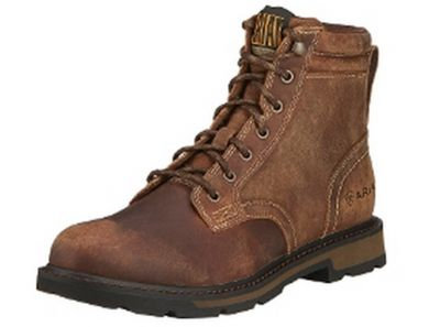 "Men's Ariat Groundbreaker 6"" Lace Up Boots 10016256"