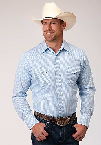 Roper Men's Long Sleeve Western Style Shirt
