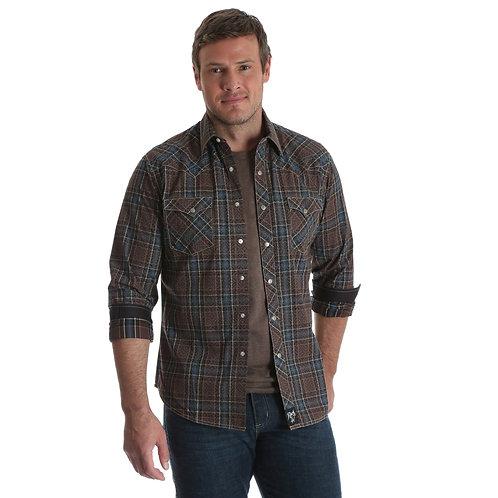 Rock 47® By Wrangler® Long Sleeve Western Shirt