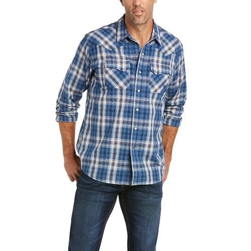 Ariat Mens Abilene Retro Snap Long Sleeved Shirt 10035446