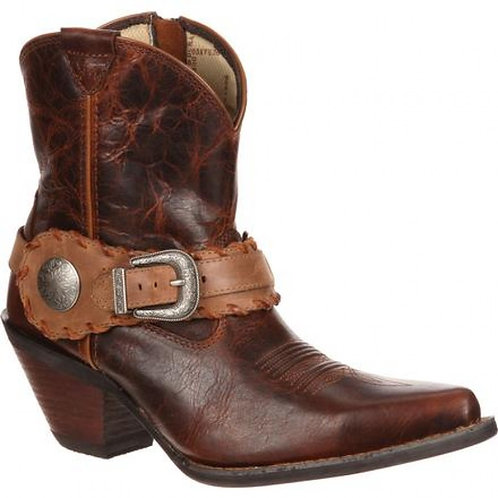 Durango Women's Crush Spur Strap Short Boot