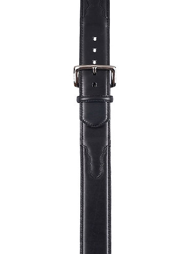 3D Company 1011 Men's Standard Belt in Black Cow with Billits and Buckle
