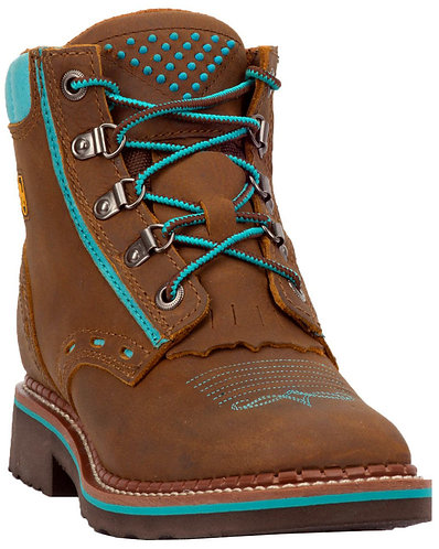Dan Post Women's Janesville Work Boots - Square Toe