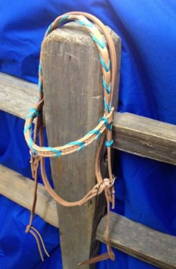Headstall, BB S/P Ross w/colored lace