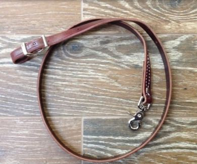 Tie Down, leather S/P 3/4in ,Latigo,120755,