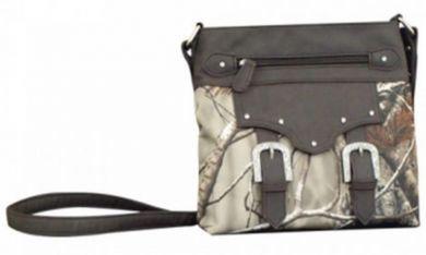 RealTree Western Handbag Womens Crossbody Camo Brown Gray