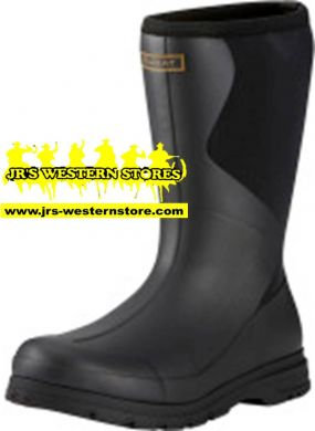 Ariat Black Springfield Rubber Boot #10021513